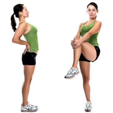 back extension + piriformis