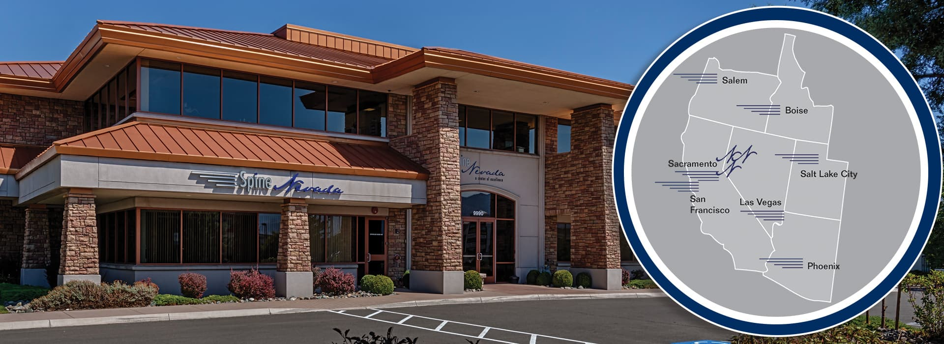SpineNevada Minimally Invasive Spine Institute includes offices in Reno, Sparks and Carson